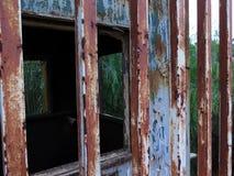Cerca oxidada fotos de archivo libres de regalías