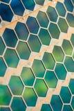 Cerca oxidada del metal en una forma de maleficio Imágenes de archivo libres de regalías