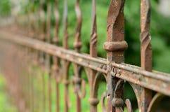 Cerca oxidada do ferro Foto de Stock Royalty Free