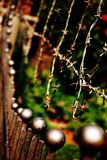 Cerca oxidada velha Foto de Stock