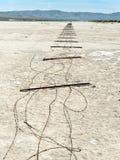 Cerca que miente completamente en el playa Imagenes de archivo