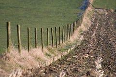 Cerca rural Foto de archivo