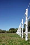 Cerca rural de la granja fotografía de archivo libre de regalías