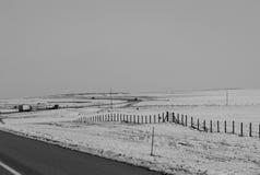 Cerca Of Snow Fotografía de archivo