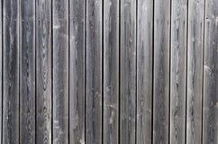 Cerca velha de madeira de placas incolores Fotografia de Stock