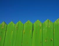 Cerca verde Imagen de archivo libre de regalías