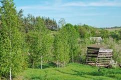 Cercanías del pueblo Imagenes de archivo