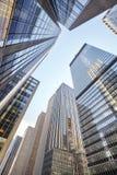Cercando i grattacieli di New York, U.S.A. Fotografia Stock Libera da Diritti