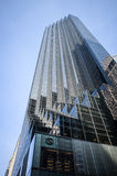 Cercando il lato dentellato della torre di Trump - quinto viale, nuovo Y Immagine Stock