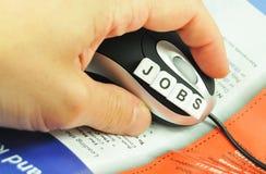 Cercando un job Fotografia Stock