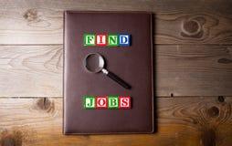 Cercando un lavoro Immagini Stock