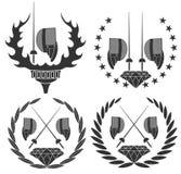 cercar ilustração royalty free