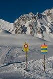 Cercare regione al Mt Graue Hörner in Svizzera fotografia stock