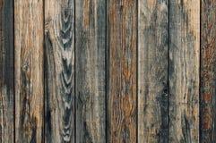 Cercas de madera viejas, tablones viejos de la cerca como fondo Imágenes de archivo libres de regalías