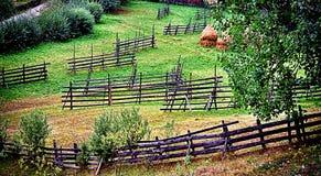 Cercas rurais do país Imagens de Stock Royalty Free