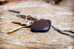 Cercatore chiave con due chiavi fotografie stock libere da diritti