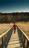 Cercatore di avventura Fotografia Stock