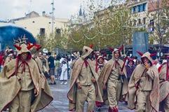 Cercavila Festa Major Vilafranca del Penedés Royalty Free Stock Photo