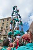 Cercavila Festa Major Vilafranca del Penedés Stock Image