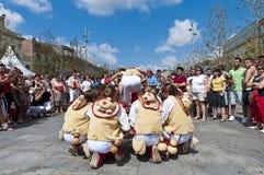 Cercavila Festa Major Vilafranca del Penedés Royalty Free Stock Photos