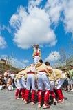 Cercavila Festa Major Vilafranca del Penedés Stock Photo