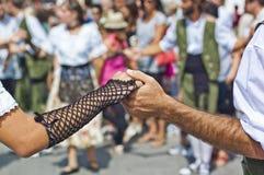 Cercavila Festa Principal Vilafranca del Penedés Fotos de Stock