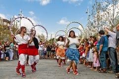 Cercavila Festa Principal Vilafranca del Penedés Fotos de Stock Royalty Free