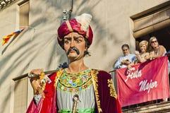 Cercavila at Vilanova i la Geltru Royalty Free Stock Photos
