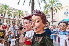 Cercavila at Vilanova i la Geltru Royalty Free Stock Image