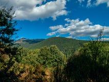 Cercedilla-Landschaft Stockbilder