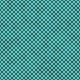 Cerceta brilhante e polca pequena branca Dots Pattern Repeat Background Foto de Stock