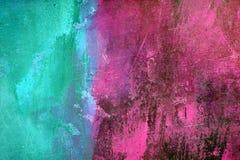 Cerceta e cor-de-rosa Fotografia de Stock