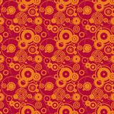 Cerchi arancioni Fotografie Stock Libere da Diritti