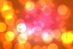Cerchi astratti del bokeh di colore della miscela del fondo Fotografie Stock