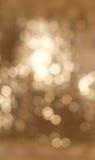 Cerchi astratti di Bokeh della luce bianca del fondo per il fondo di evento di celebrazione di Natale Fotografia Stock