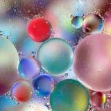 Cerchi - azzurro Immagini Stock