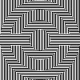 Cerchi in bianco e nero Fotografia Stock Libera da Diritti