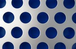 Cerchi blu Fotografie Stock