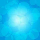 Cerchi blu Fotografia Stock
