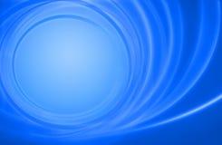 Cerchi blu astratti di energia di potenza della priorità bassa Fotografia Stock Libera da Diritti