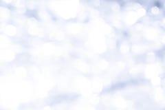 Cerchi blu del bokeh Fotografie Stock Libere da Diritti