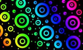 Cerchi colorati immagini stock