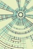 Cerchi concentrici con la priorità bassa radiale del divisore Immagini Stock Libere da Diritti