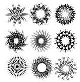 Cerchi decorativi 1 Fotografie Stock