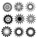 Cerchi decorativi 2 Immagine Stock
