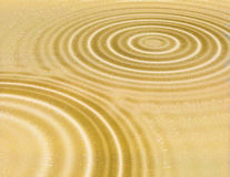 Cerchi del deserto Fotografie Stock