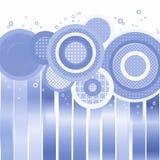 Fondo blu-chiaro dell'annata immagini stock libere da diritti
