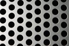 Cerchi della griglia dell'altoparlante Fotografia Stock Libera da Diritti