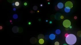 Cerchi di colori differenti stock footage