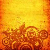 Cerchi di Grunge Fotografie Stock